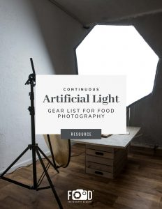 Continuous Artificial Light Gear List