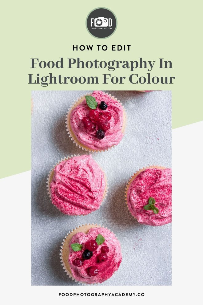 Learn how to boost the colour of your food photos in Lightroom with me in this video tutorial