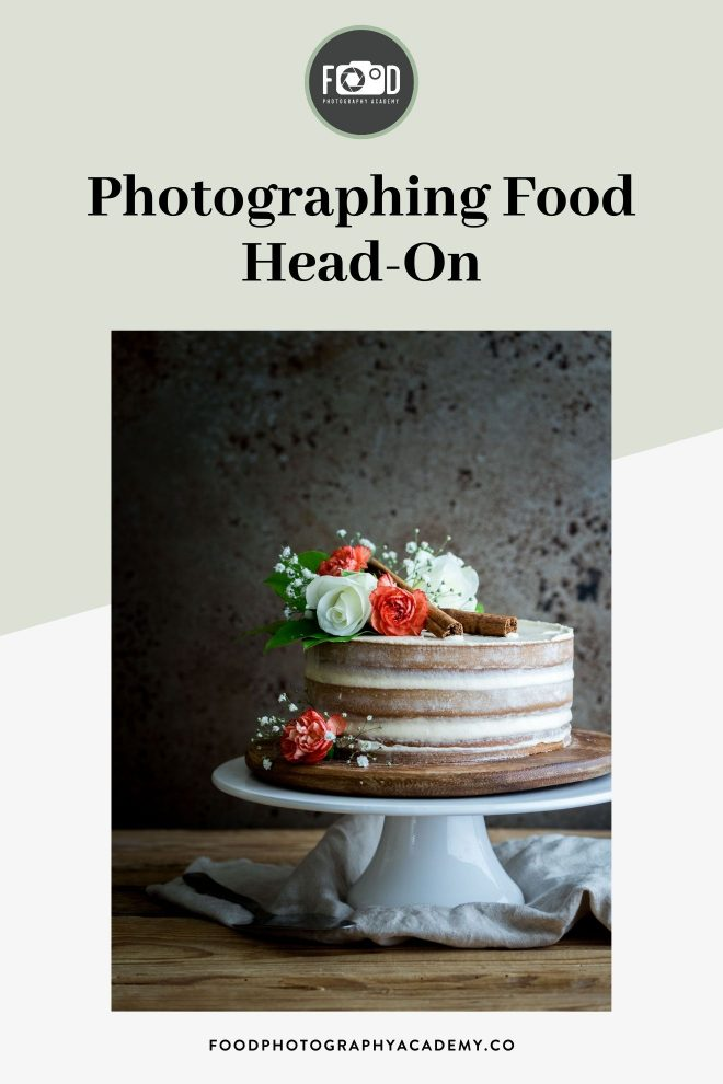 Photographing Food Head On