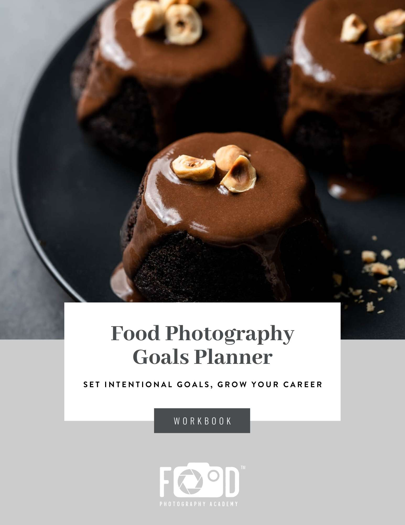Food Photography Goal Setting Workbook