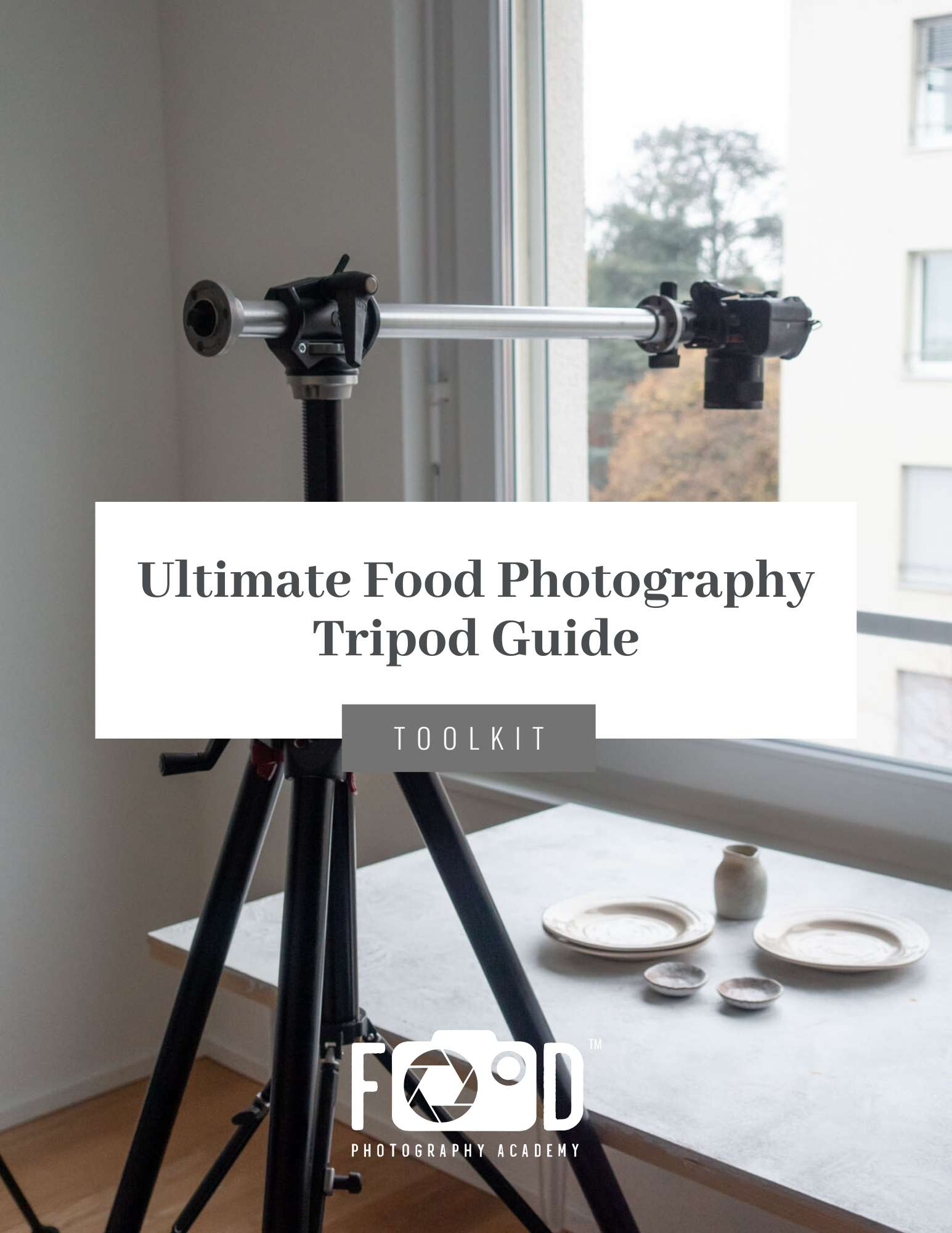 Ultimate Food Photography Tripod Toolkit