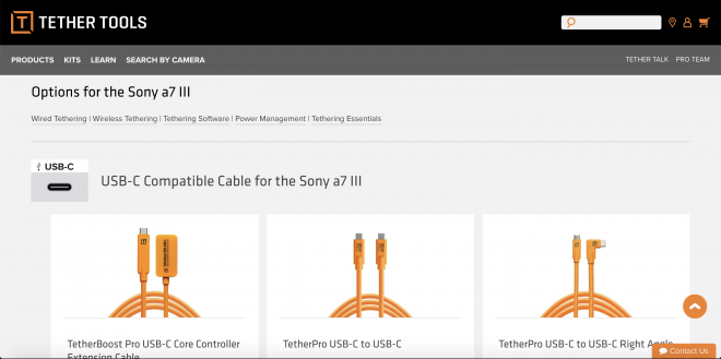 Image of tether tools cable search tool