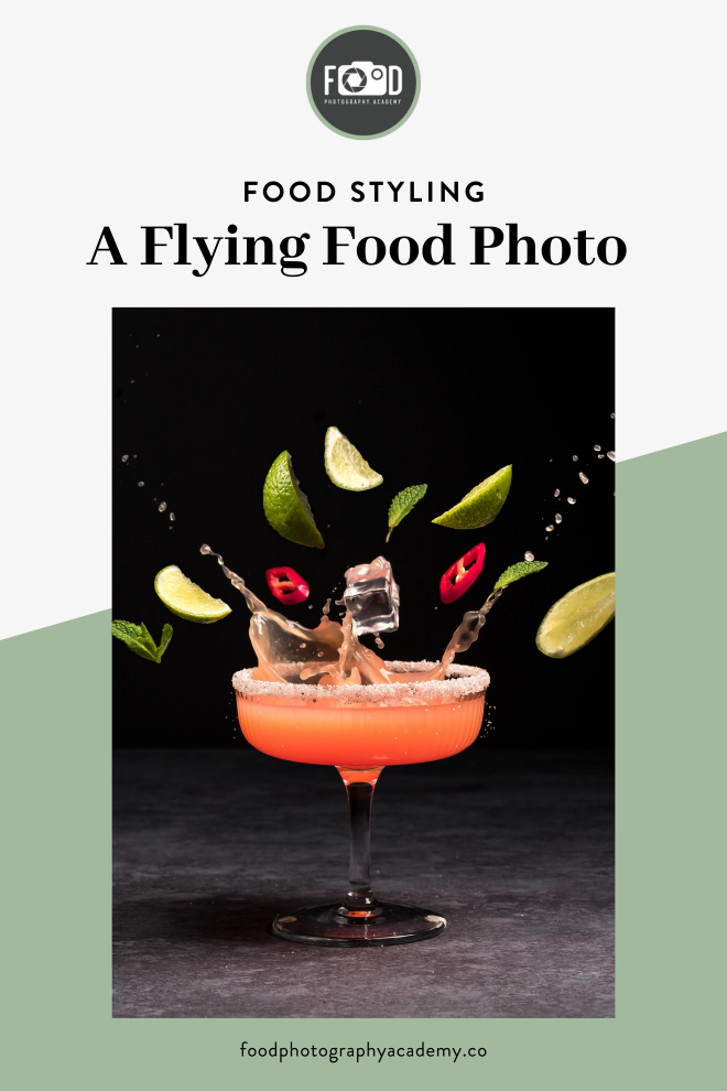 A Flying Food Photo