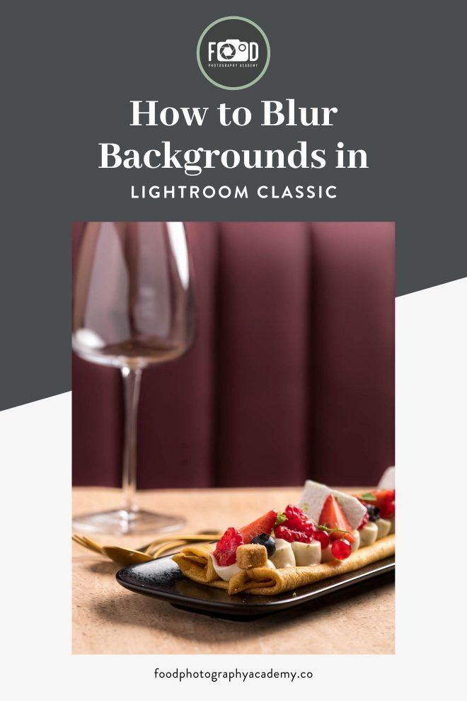 How to Blur Backgrounds in Lightroom Classic Pin Image